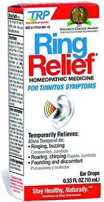The Relief Products Ring Relief Formula Ear Drops 0.33 oz