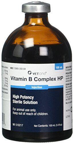 VetOne Vitamin B Complex HP For Cattle, Sheep & Swine