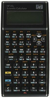 HP 35s Scientific Calculator Programmable 14 Digit LCD with Protective Case
