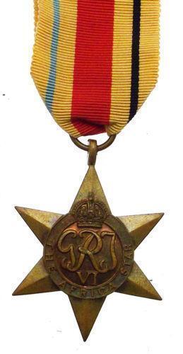 africa star medal ebay