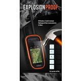 GVDS Explosion Proof Screen Protector Tempered Glass for Garmin Alpha 100
