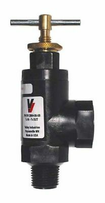 "1/2"" 3/4"" Nylon Pressure Regulator Valve - chemical resistant, Hamilton 20640558"