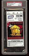 Michael Jordan Ticket Stub