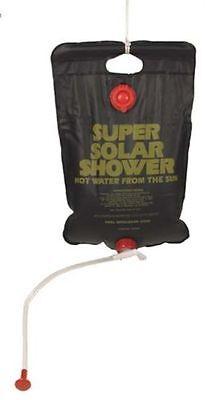 Duschen mit der Kraft der Sonne