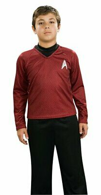 Star Trek Child's Deluxe Red Shirt & Dickie Pants w/ Attached Boot Tops - Medium