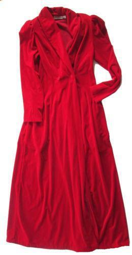 Vintage Velvet Robe Ebay