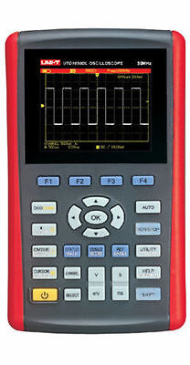 Handheld 2ch 50mhz Oscilloscope Scopemeter 250mss Multimeter 2in1 Usb Utd1050dl