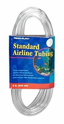 Tubing For Aquariums –Clear and Flexible Resists Kinking, 8 Feet All Water Types Flexible Aquarium Tubing