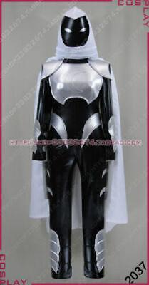 Moon Knight Halloween Costume (Moon Knight Marc Black Halloween Wear Cosplay Costume Set )