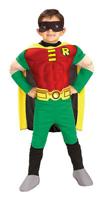 Deluxe Muscle Chest Teen Titan Robin Costume - Teen Titan Robin Costume