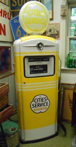 Bennett gas pump ebay