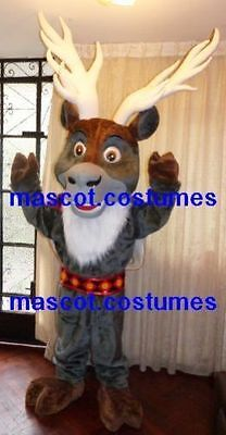 New Special sven frozen reindeer Mascot Costume olaf figure ice frozen Character](Sven Frozen Costume)