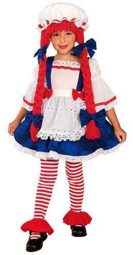 girls rag doll costume ebay