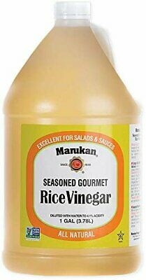 - Marukan Gourmet Seasoned Rice Vinegar, 1 Gallo