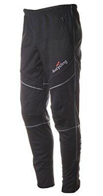 4ucycling men's athletic active thermal pants black Xl-gangs