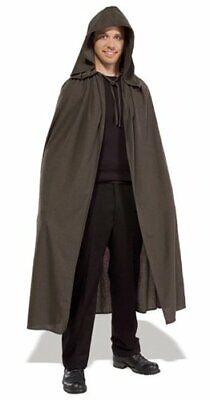 Elven Cloak Lord Rings Hobbit Elf Hooded Fancy Dress Up Halloween Adult Costume - Elven Costumes