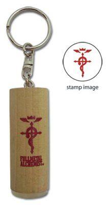 Fullmetal Alchemist Stamp Keychain