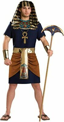 InCharacter Adult Mens Pharaoh Egyptian Costume Large, Multicolored, Size L 3a0X