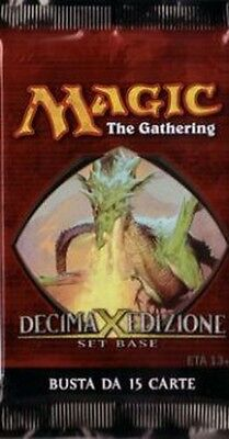 ITALIAN Magic MTG 10th Tenth Edition X Core Set Booster Pack RARE the Gathering - 10th Tenth Edition Core