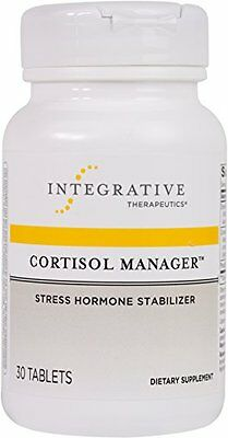 New Integrative Therapeutics Cortisol Manager Tablets 30 Count Free Shipping