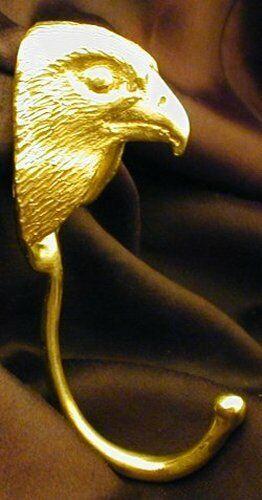 FALCON J Hook, Robe Hook, Coat Hook, Leash Hook Bronze