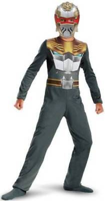 Robo Knight Power Rangers Megaforce Costume Boys size 10-12 Disguise 52854 - Robo Knight Costume