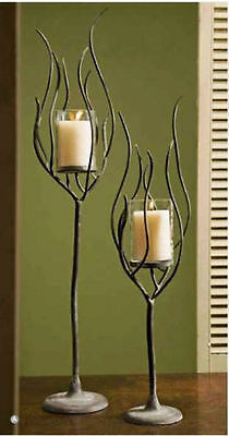 Flickering candle light collection on ebay for Fedora candle holder