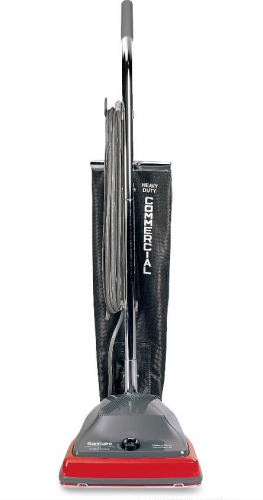 Sanitaire Commercial Upright Vacuum Red Lightweight Floor Cl