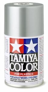 TAMIYA-COLORE-SPRAY-PER-PLASTICA-METALLIC-SILVER-ARGENTO-METALLIZZATO-100ml-TS83
