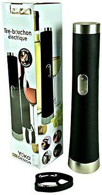 Yoko Design 1271 - Apribottiglie elettrico in PVC/plastica/inox, 28 cm , (f3w)