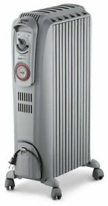 DeLonghi Oil Filled Space Heater w/ 24 hour timer and 3 settings