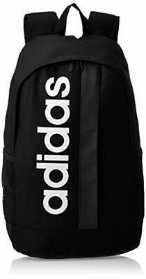 Adidas Linear Core Backpack - Black/Black/White, One Size