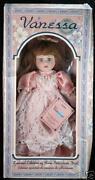 Vanessa Porcelain Doll