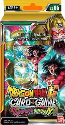 Dragon Ball Super TCG CCG THE CRIMSON SAIYAN Starter PREORDER Promo Dash Packs
