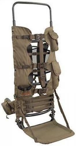 Large Hunting Backpack Frame Freight Best Hiking Camo Gear Pack Game Elk Meat S