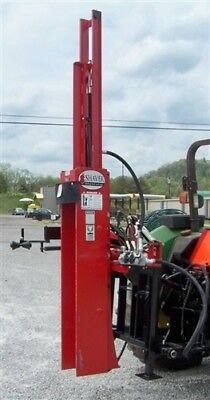 New Shaver Hd10 -hyd. Post Driver 3 Point Low Cost Shipping Is Amazing Fast