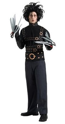 Edward Scissorhands Halloween Adult Mens Costume Film Fancy Dress - Medium