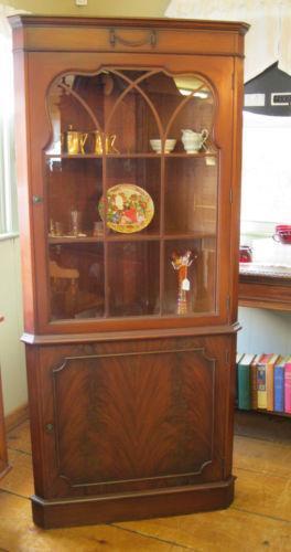 Mahogany Corner Cabinet Ebay