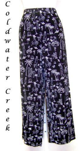 Coldwater Creek Travel Knit Pants Ebay