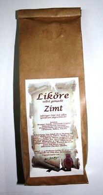 Zimt Likör Ansatz 200 g würzig selber machen 1kg/24,50€ Tee-Meyer g1