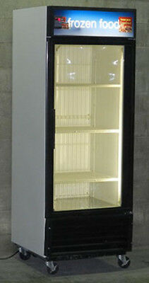Used Single Glass Door Freezer Merchandiser