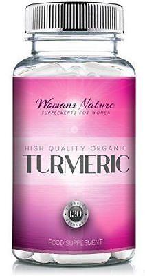 Turmeric | Turmeric for Women with Bioperine | 1500mg x 30 Days | Vegetarian