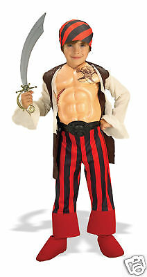 Tough Stuff PIrate Boy Deluxe Child Costume - Medium
