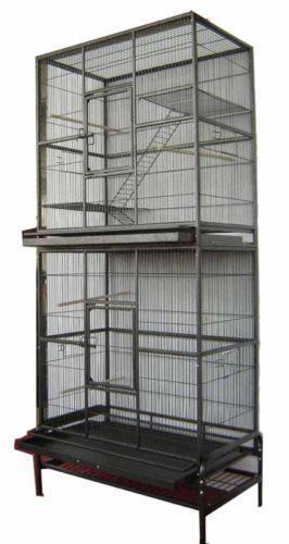 Double Bird Cage Ebay