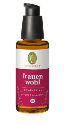 PRIMAVERA Oils Frauenwohl Massageöl Balance Bio Öl