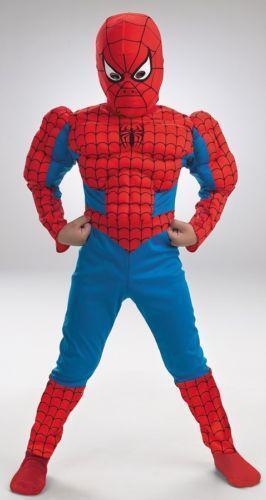Spiderman Deluxe Costume Ebay