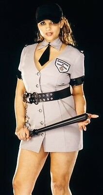 Sexy Plus Size Correction's Officer Costume from Dreamgirl - Plus Size Officer Kostüm