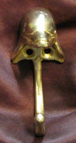 DOLPHIN J Hook, Robe Hook, Coat Hook, Leash Hook Bronze