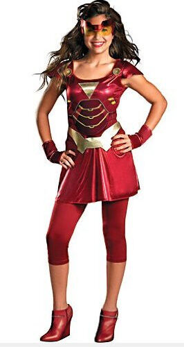 """Ironette"" Iron Man 2 Costume Size Junior Medium 7~9"