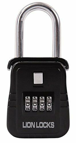 Lion Locks 1500 Key Storage Lock Box with Set Your Own Combi